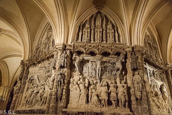 El trasaltar de la catedral de Burgos