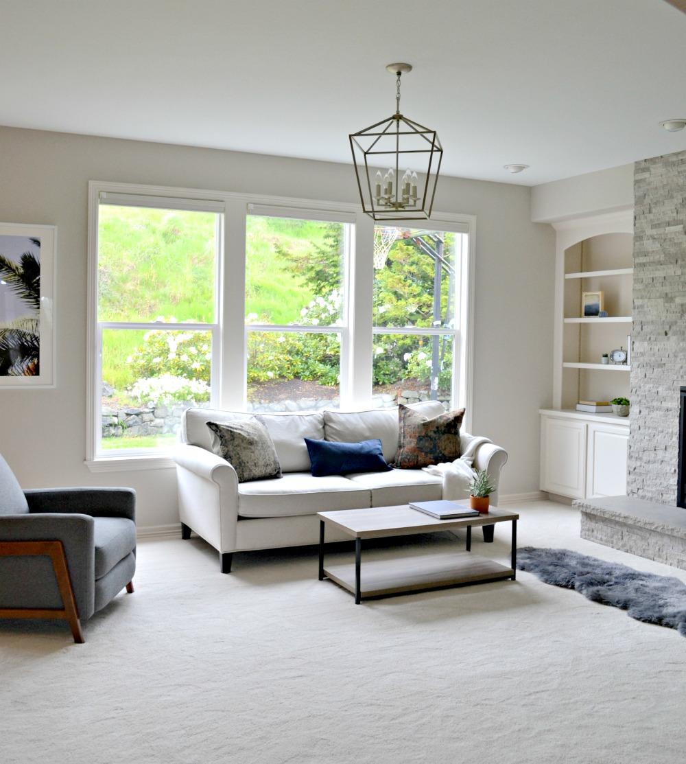 Updating a 90's Model Home Living Room Reveal - Rachel Teodoro on 90 Room  id=51746