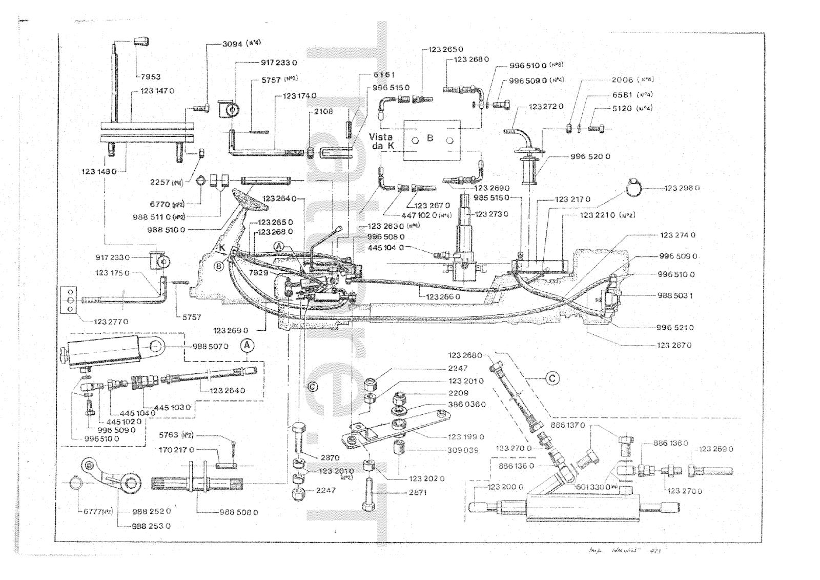 InfoTrattore.it: Motoagricola Pasquali 423 4X4 Manuale ricambi