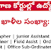 Telangana high court and judicial disctricts recruitment 2019  junior assistant steno jobs