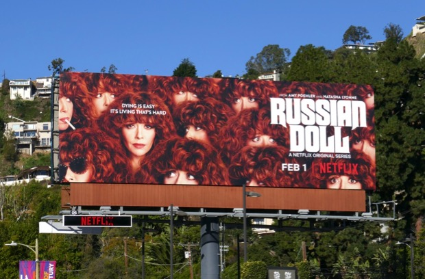 Russian Doll series premiere billboard