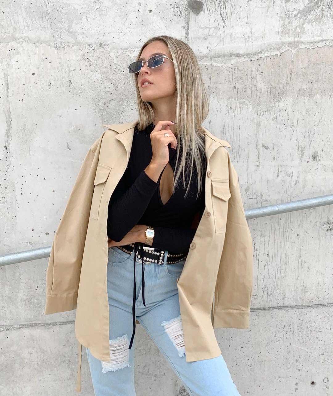 estilo casual urbano moda invierno 2021 mujer