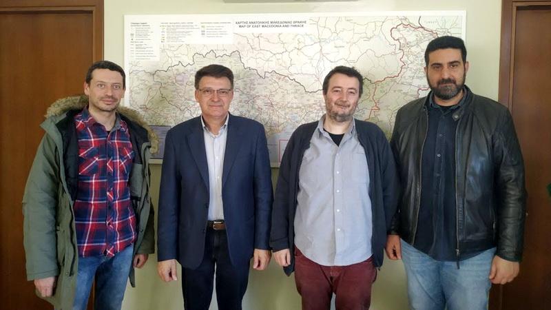 Συνάντηση κλιμακίου του ΚΚΕ με τον Αντιπεριφερειάρχη Έβρου