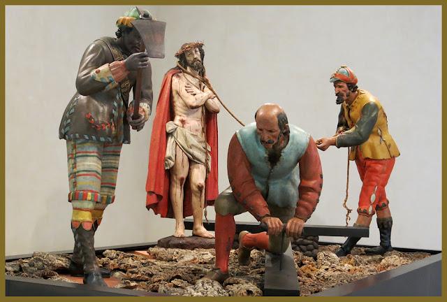 Resultado de imagen de preparativos para la crucifixión valladolid