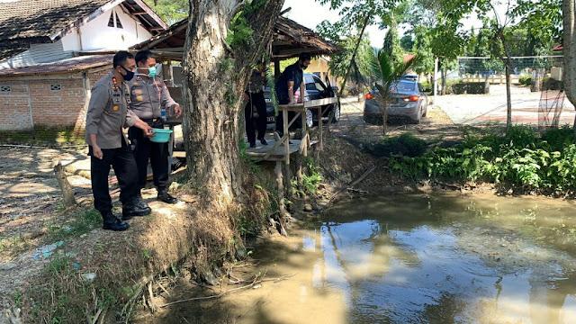 Jaga Ketahanan Pangan, Polres Luwu Utara Budidaya Ikan Lele