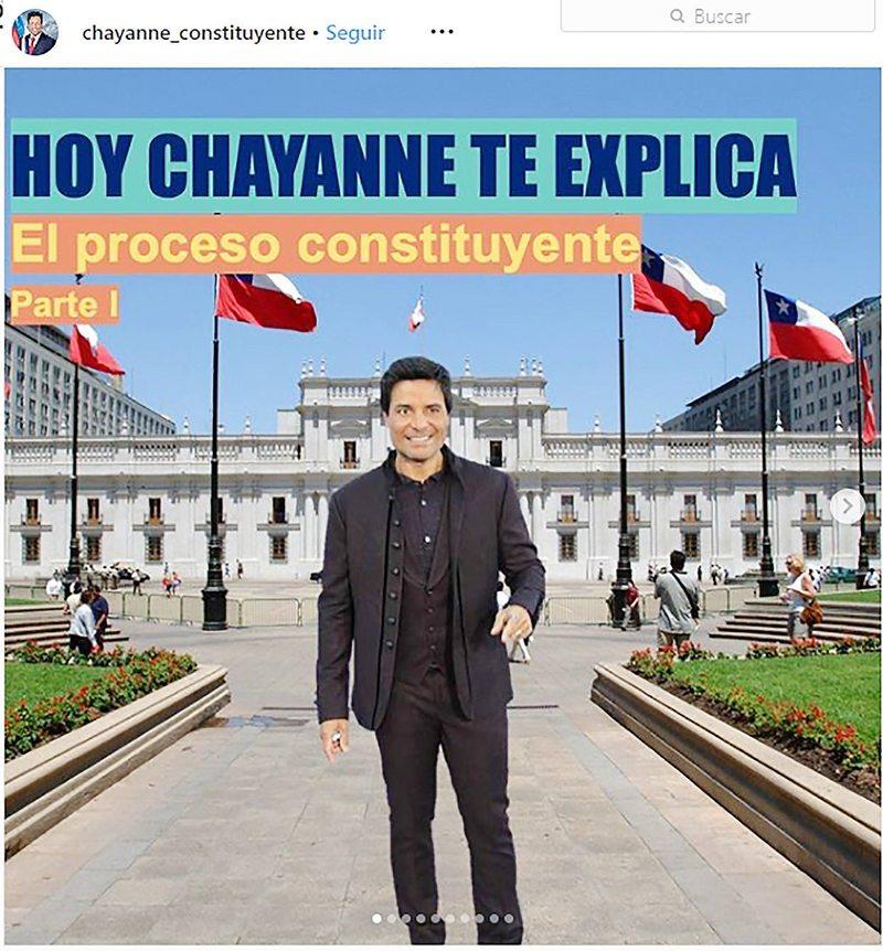 Chayanne Constituyente