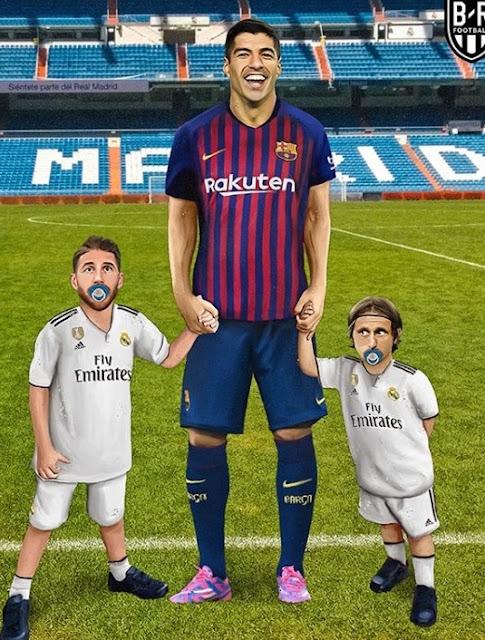 Los mejores memes del Madrid-Barça en el Bernabéu