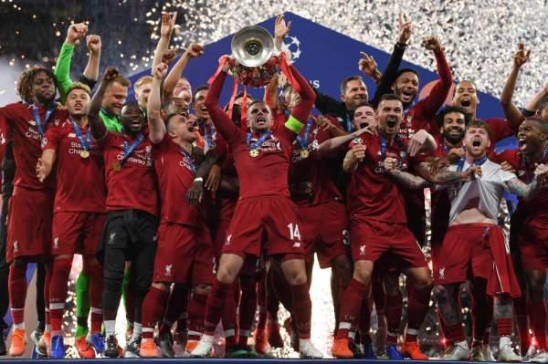 ليفربول بطلا لبطولة دوري ابطال اوربا.