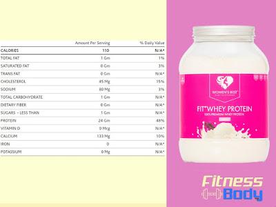بروتين مصل اللبن Best Fit Pro للسيدات
