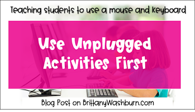 Tip #2: Use Unplugged Activities First
