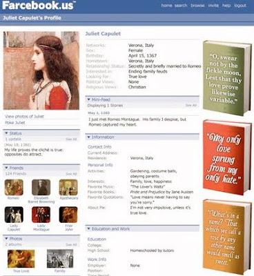 Farcebook Examples for Pinterest