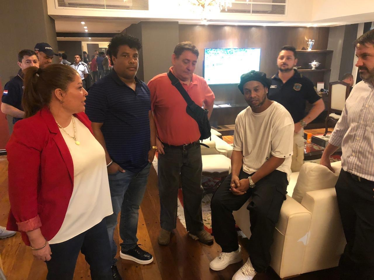 Ronaldinho and his brother have been arrested for entering Paraguay with fake passports