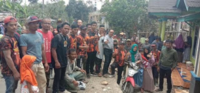 Sambut HUT Ke-60, Pemuda Pancasila Belik Bangun Masjid Nur Hikmah