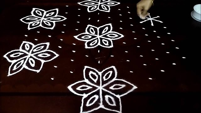 Top 10 Dotted Rangoli Designs With The Number of Dots 2020