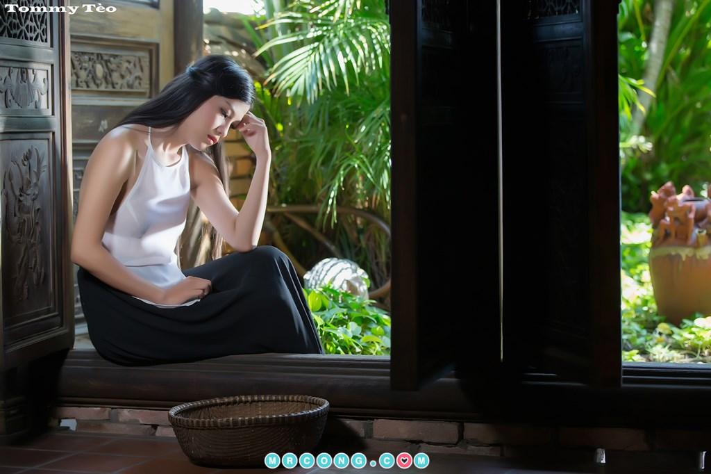 Image Nhung-Nguyen-by-Dang-Thanh-Tung-Tommy-Teo-MrCong.com-005 in post Nóng cả người với bộ ảnh thiếu nữ thả rông ngực mặc áo yếm mỏng tang (19 ảnh)