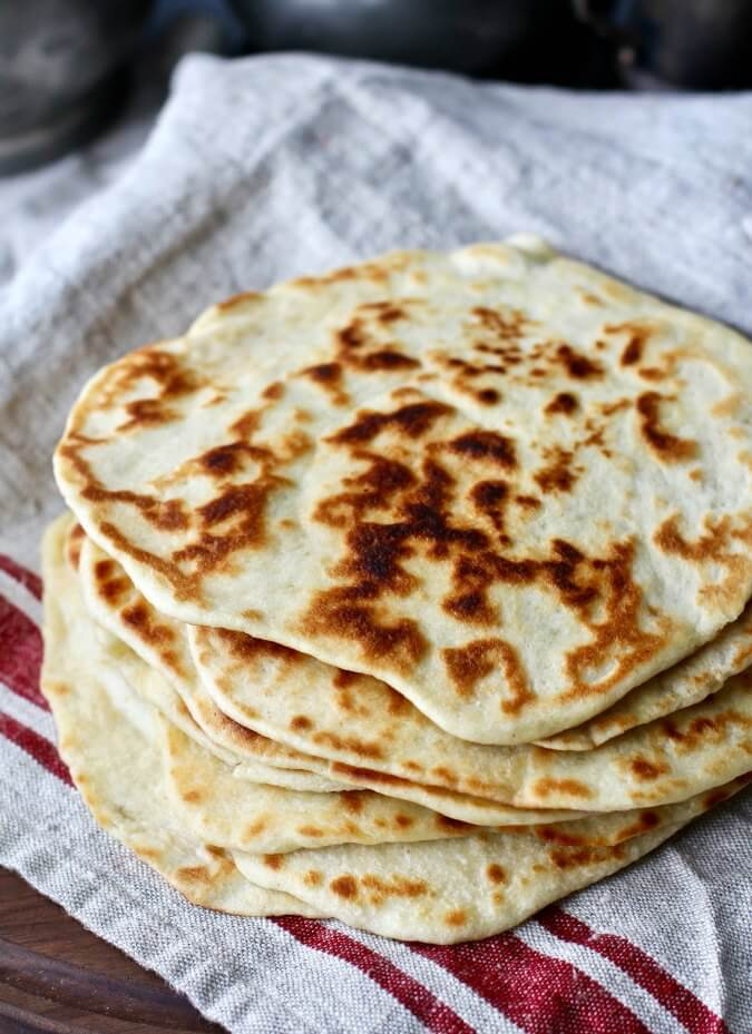 Sourdough Greek Yogurt Flatbread