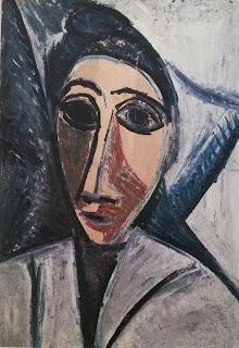 Бюст женщины или моряка Пабло Пикассо, 1907