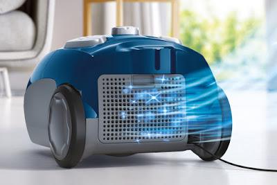 Thiết kế máy hút bụi Electrolux Z1220 đầu hút 2 trong 1, hoạt động êm ái