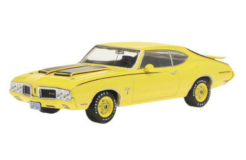 coleccion american cars 1:43, coleccion american cars altaya, oldsmobile cutlass rallye 350 1:43