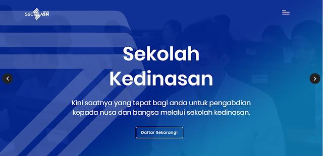 Pendaftaran Sekolah Kedinasan melalui web Dikdin.BKN.go.id 2020