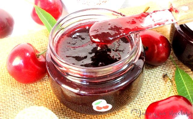 Mermelada de cerezas. Julia y sus recetas