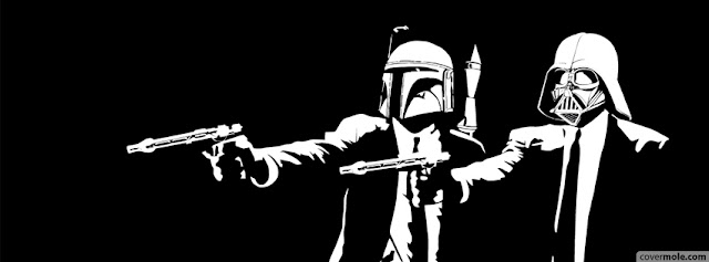 facebook timeline cover vader and bobba fett