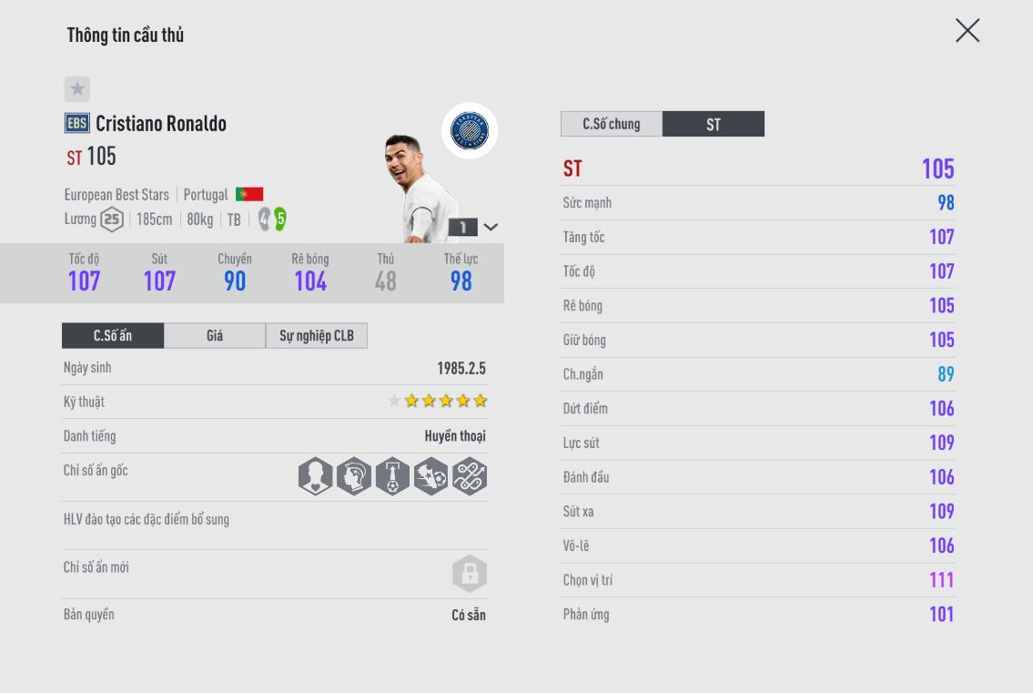 FIFA Online 4   Việt Nam hé lộ bất ngờ cho thẻ mùa giải mới European Best Stars Class - Họ là ai ?