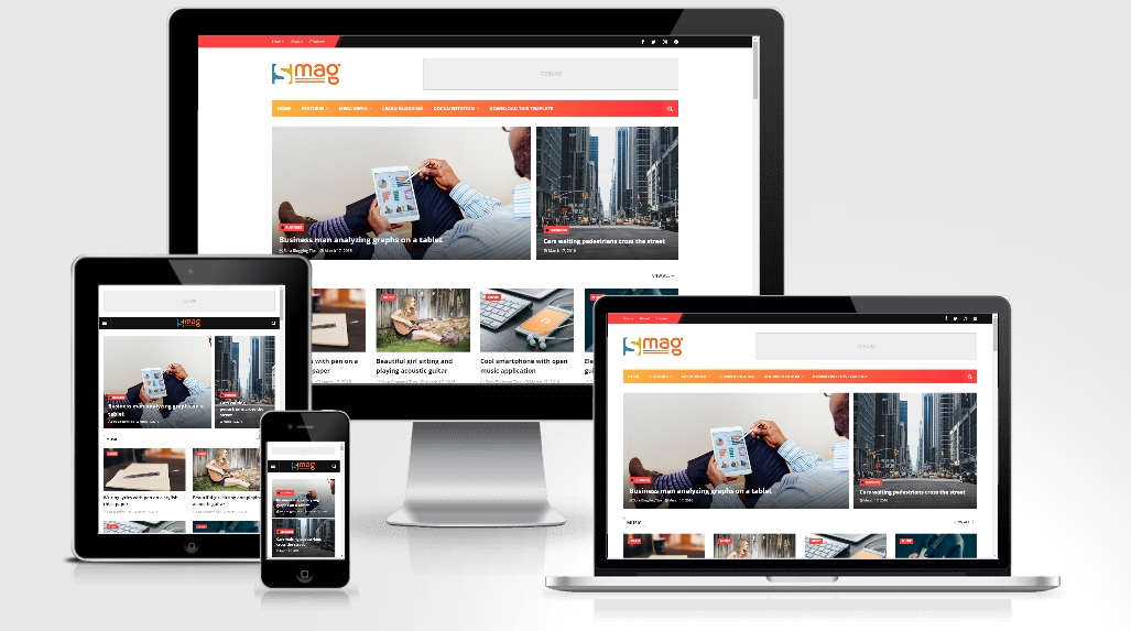 Smag - Responsive Blogger Template