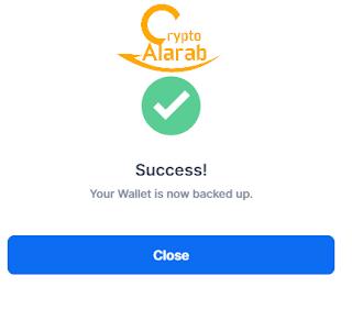 طريقة حماية الحساب في محفظة بلوكتشين blockchain