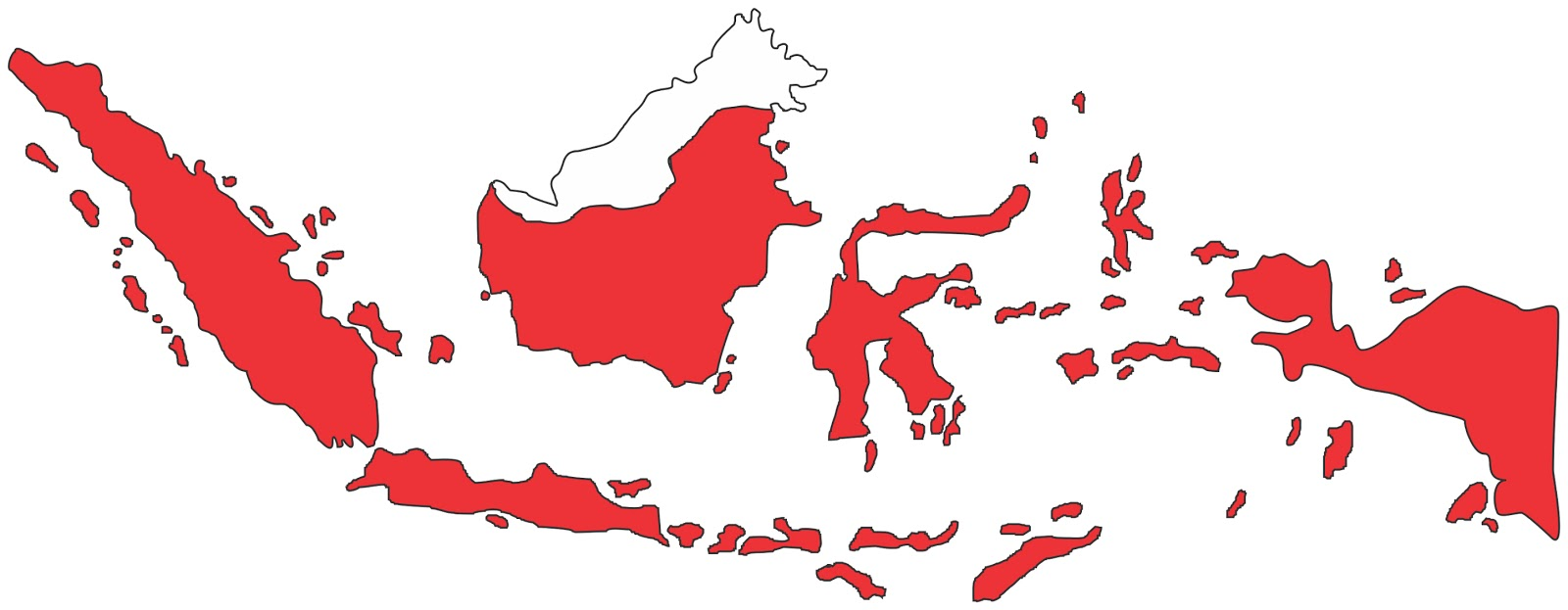 Peta Indonesia Nusantara Vector Download CDR