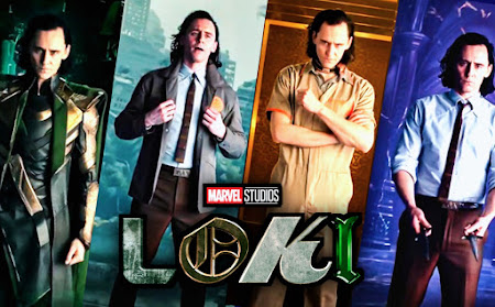 Ad features Marvel Loki 4 Versions from the series