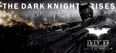 The Dark Knight Rises Theatrical Movie Banner Set 1 - Christian Bale as Batman