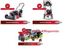 Logo Briggs & Stratton concorso ''Il motore conta'': vinci gratis kit per giardino, rasaerba e non solo