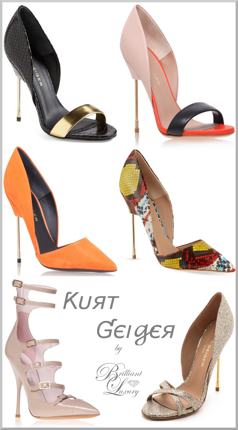 Brilliant Luxury ♦ Kurt Geiger heels collection