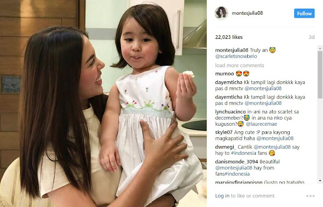 Actress Julia Montes Finally Meets Baby Scarlet Snow! Find Out How It Went HERE!