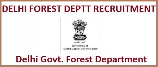 Delhi Forest Guard/ Ranger Admit Card 2020