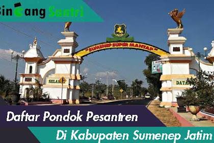 Daftar Pondok Pesantren Di Kabupaten Sumenep