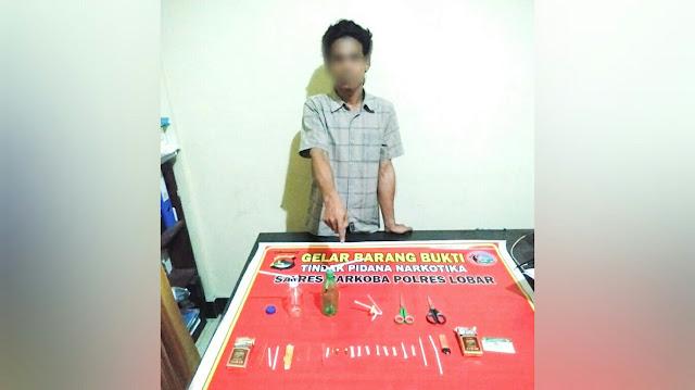 Polisi tangkap pelaku narkoba di Lombok Barat