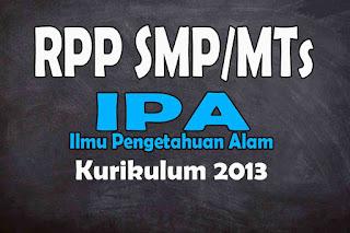 RPP 1 Lembar IPA SMP Kurikulum 2013