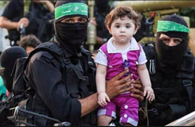 Hamas Đưa Cuộc Đời Trẻ Em Vào Vòng Nguy Hiểm