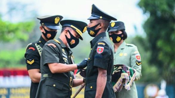 Pangdam Hasanuddin, Lantik 702 Prajurit Tamtama PK TNI AD Gel I di Malino