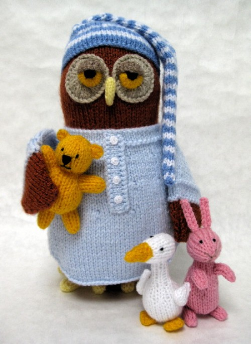Night Owl - Knitting Pattern