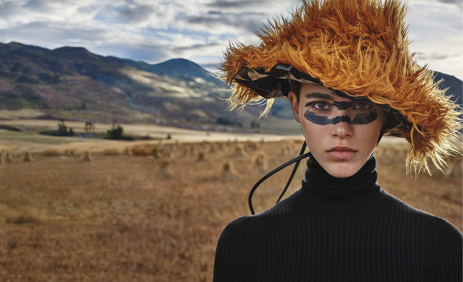 40d74160e39 Pauline Hoarau in Marie Claire US October 2017 by Michelangelo di ...