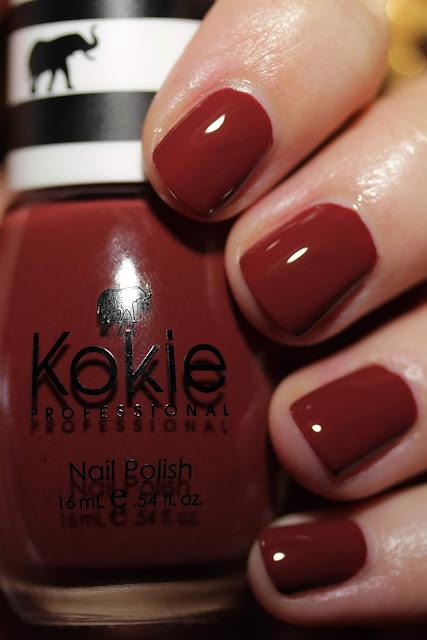 Kokie Cosmetics Saucy swatch by Streets Ahead Style