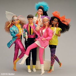 The cult series forever! Barbie and the Rockers™ 1985