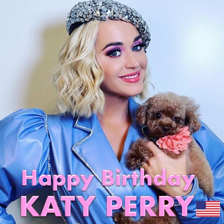 Katy Perry's Birthday Wishes for Instagram