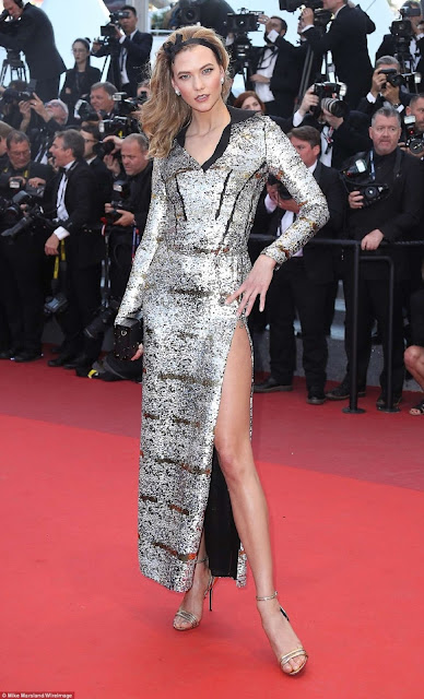 Fashion Model, @ Karlie Kloss at the Premiere of 'Julieta' at 2016 Cannes Film Festival