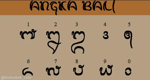 Wilangan Bali