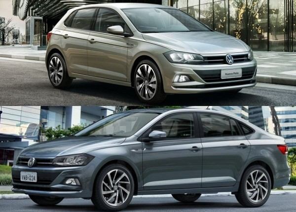 Volkswagen Polo y Volkswagen Virtus 2021