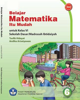 Buku Matematika Kelas 6 SD/MI Karya Taofik Hidayat dan Andika Arisetyawan